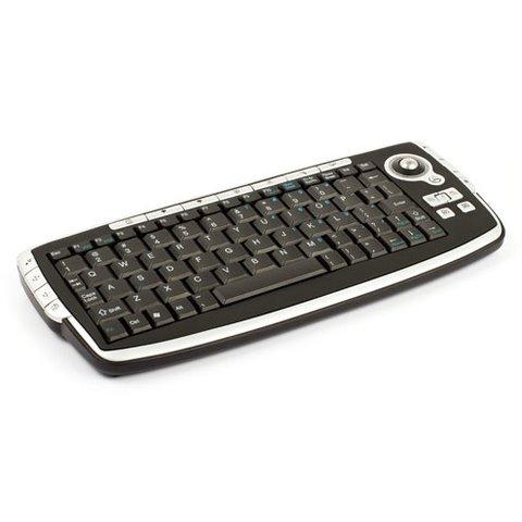 Безпровідна міні-клавіатура з трекболом (2,4 ГГц) Прев'ю 1