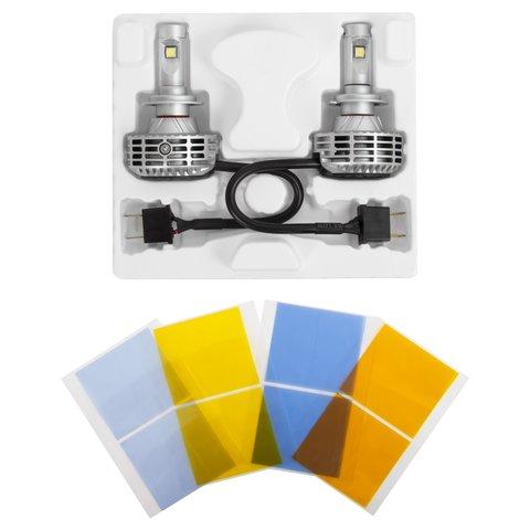 Набор светодиодного головного света UP-6HL (H7, 3000 лм) Превью 1