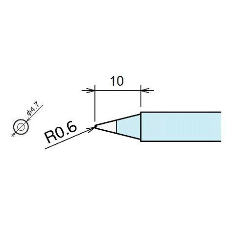 Паяльне жало Goot RX-80HRT-2B Прев'ю 1