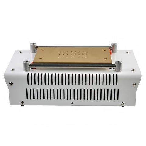"""Пристрій для розклеювання дисплейного модуля (сепаратор) UYUE 948Z для планшетів; мобільних телефонів, використовується для екранів до 7 """", з вакуумним насосом Прев'ю 3"""