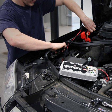 Інтелектуальний зарядний пристрій G7200EU для 12 В та 24 В акумуляторів - Перегляд 3