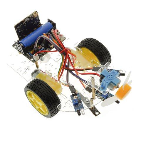 Конструктор на базі micro:bit Розумний робот-пожежник + посібник користувача Прев'ю 4
