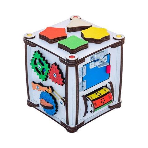 Бізіборд GoodPlay Кубик для розвитку з підсвіткою (17×17×18) Прев'ю 2