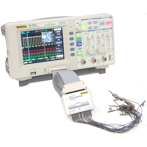Цифровой осциллограф смешанных сигналов RIGOL DS1052D - Просмотр 4