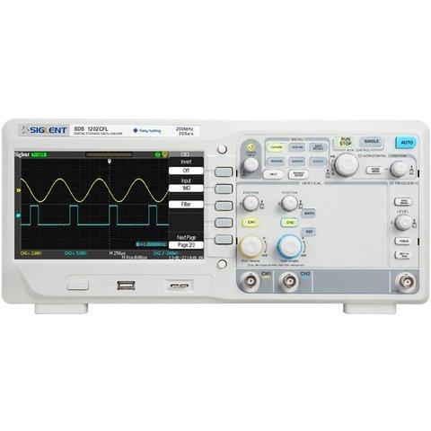 Digital Oscilloscope SIGLENT SDS1202CFL Preview 1