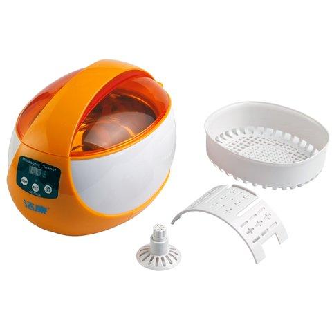 Ultrasonic Cleaner Jeken CE-5600A (orange) Preview 2