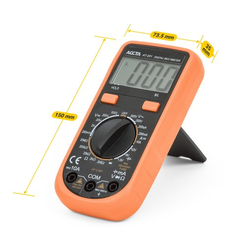 Digital Multimeter Accta AT-201 Preview 1